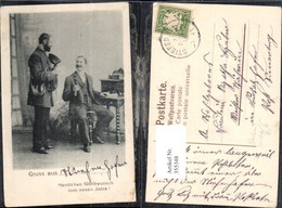 355348,Postwesen Post Briefträger Mann A. Schreibtisch - Post & Briefboten