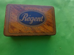 Boite Fer  REGENT  J Bastos Oran 9.5 Cm X6 Cm- - Boxes