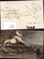 355455,Qui Vive France Patriotik Soldaten Löwenfigur Flugzeug Frankreich - Geschichte