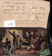 355453,Künstler Ak Rouget De Lisle Chantant La Marseillaise Frankreich Patriotik - Geschichte