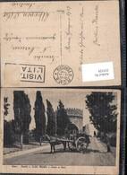 355529,Roma Rom Tomba A Cecilia Metella E Carro A Vino Kutsche - Taxi & Carrozzelle
