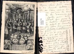 355483,Künstler Ak Louis XIV Visite L Eglise Royale Des Invalides 1706 Geschichte - Historia