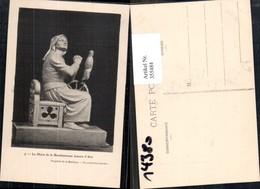 355484,La Mere De La Bienheureuse Jeanne D Arc Spinnrad Gebet Geschichte Frankreich - Geschichte