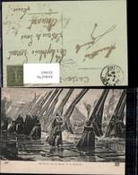355463,Künstler Ak Henry Motte Richelieu Sur La Digue De La Rochelle Frankreich Gesch - Geschichte