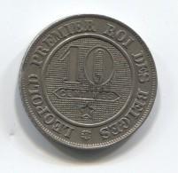 BELGIUM - 10 Centimes, 1861. - 1831-1865: Léopold I