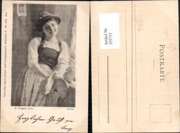 355715,Künstler Ak P. Wagner S Rosl Mädchen Trachten Deutschland Pub Carl Otto Hayd M - Costumes