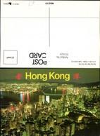 351825,Hong Kong Hongkong Night Scene From Peak Totale - China