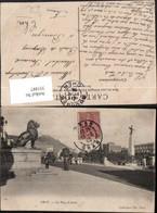 351887,Oran La Place D'Armes Straßenansicht Löwenstatue - Ohne Zuordnung