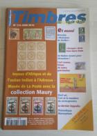 TIMBRES MAGAZINE 2010 - Juin N° 113 (Collection Maury, Mail Art, Marianne De Muller, ...) - Français (àpd. 1941)
