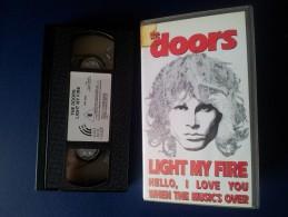 M#0R70 MUSICA - THE DOORS LIGHT MY FIRE VHS /JIM MORRISON - Concert & Music