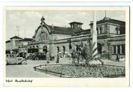 12115 Cpa   ERFURT  : Hauptbahnhof     ACHAT DIRECT ! - Erfurt