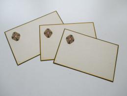 AK / Prägekarte 3 Stück Rotes Kreuz. Kriegsfürsorge. Ungebraucht Und Sehr Guter Zustand! - Rotes Kreuz