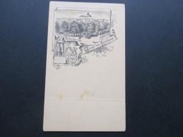 Österreich Ganzsache Ausgabe 1883 AK Vorläufer / Privater Zudruck Gruss Aus Freidland. Stadtwappen. RAR!! - 1850-1918 Imperium