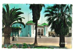 12120 Cpa   MAZAGAN  : La Poste  , Carte Photo 1954 - Maroc