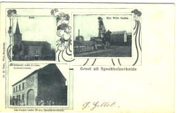 Groet Uit Speckholzerheide - Multi Vues - Kerk - Myn Wilm Sophia - Café-restaurant - 2 Scans - Kerkrade