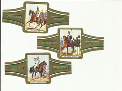 Duitse Cavalerie - Cavalerie Allemande - German Cavalry - Etiketten