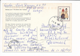 Mi P32 Stationery Ganzsache Entier Postcard - 26 April 1997 Riga-39 To Denmark - Stamp ´97 London - Latvia