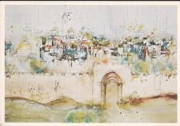 ISRAEL---E. BEN-AVRAM---JERUSALEM--partal View Of The Old City----voir 2 Scans - Israel
