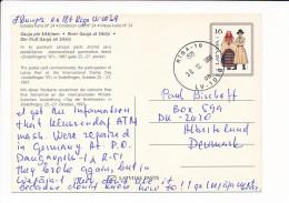 Mi P35 Stationery Ganzsache Entier Postcard - 30 December 1998 Riga-10 To Denmark -Sindelfingen ´97 - Latvia