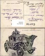 354585,Kutsche Versailles Voiture Du Sacre De Charles X - Taxi & Carrozzelle