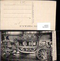 354587,Kutsche Versailles Voiture Du Sacre De Charles X - Taxi & Carrozzelle