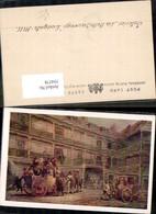 354578,Künstler Ak J. C. Maggs Interior La Belle Sauvage Ludgate-Hill Kutsche - Taxi & Carrozzelle
