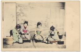 JapaneseTea Ceremony Geisha Type Women - Unused - Early - Tokio