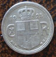 (J) ICELAND: 25 Aurar 1925 VF+ (2508) - Islandia