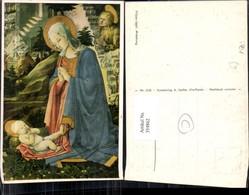 354862,Künstler Ak Filippo Lippi Anbetung Religion