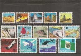 Rhodésie ( 182/195 Oblitérés) - Rhodesië (1964-1980)