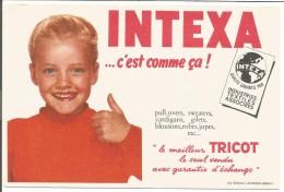 BUVARD TRICOTS INTEXA - Blotters