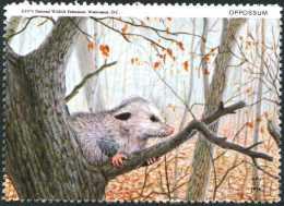 USA. Opossum. Timbre / Vignette (4,5 X 6 Cm), National Wildlife Fed. - Autres