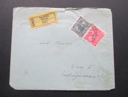 Österreich 1913 MiF Nr. 144 Und 149 Einschreiben R-Brief Butschowitz Bucovice 381 - 1850-1918 Imperium