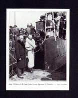 Lady Wilkins Et M. Jean Jules Vernes Baptisant Le Nautilus  ( Coupure De Presse Photo ) 11/04/1931 - Documenti Storici