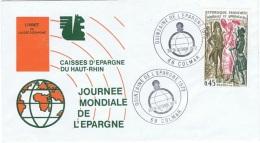 BANK-L22 - FRANCE Journée Mondiale De L´Epargne Colmar 1972 - Jobs