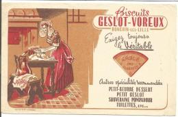 BUVARD BISCUITS GESLOT-VOREUX à RONCHON LES LILLE - Blotters