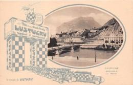 "¤¤  -  DAUPHINE   -  GRENOBLE  -  Le Neron    -  Carte Publicitaire "" LUSTUCRU ""   -  ¤¤ - Grenoble"