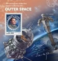 Sierra Leone 2016, Space, Gagarin, BF - Africa