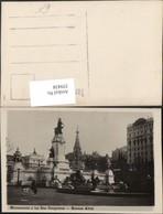 359438,Argentinia Argentinien Buenos Aires Monumento A Los Dos Congresos Monument - Argentinien