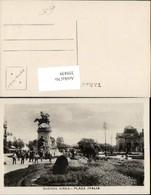 359439,Argentinia Argentinien Buenos Aires Plaza Italia Platz Denkmal - Argentinien