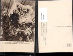 362804,Künstler Ak Martin Gauthereau Die Ankunft Der Landsknechte Ritter - Geschichte