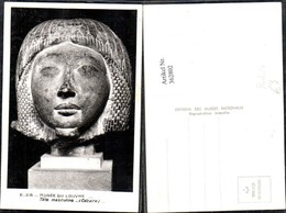 362802,Künstler Ak Calcaire Tete Masculine Musee Du Louvre Büste Geschichte - Geschichte