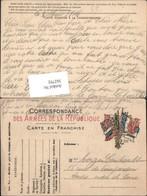 362792,Ganzsache Des Armees De La Rebublique Frankreich - Geschichte