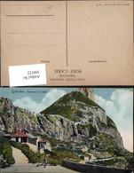 360122,Gibraltar Governors Cottage Haus Bergkulisse - Gibraltar