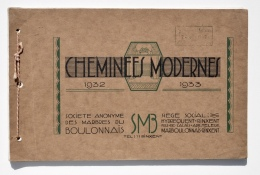 Catalogue 1932-1933 : CHEMINÉES MODERNES De Société Des MARBRES Du BOULONNAIS à HYDREQUENT-RINXENT, Pas-de-Calais - Autres Collections