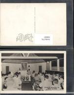360687,Neuguinea New Guinea Church Services Kirche Kapelle Innenansicht - Ansichtskarten