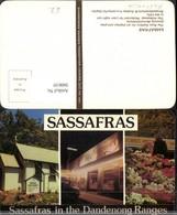 360610,Australia Dandenong Ranges Sassafras Ross Gallery Restaurant Blumen Mehrbildka - Ansichtskarten