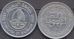 Bahrain 50 Fils 2005 ( 1426 ) AUNC - Kingdom Of Bahrain - Bahrain