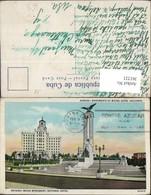 361221,Cuba Kuba Habana Havana Maine Monument And National Hotel - Ansichtskarten