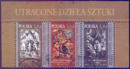 USED POLAND 2009, Lost Art 3V [::] - 1944-.... République